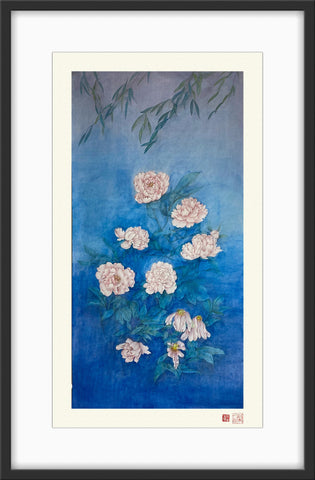 Fine Art Prints: Xanadu - Peony - The Peony Girl