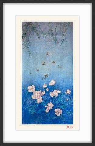 Fine Art Prints: Xanadu - Butterflies - The Peony Girl