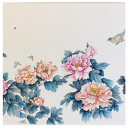 Online 8-Week Full Peony Gongbi Painting Class (February - March 2021) - The Peony Girl