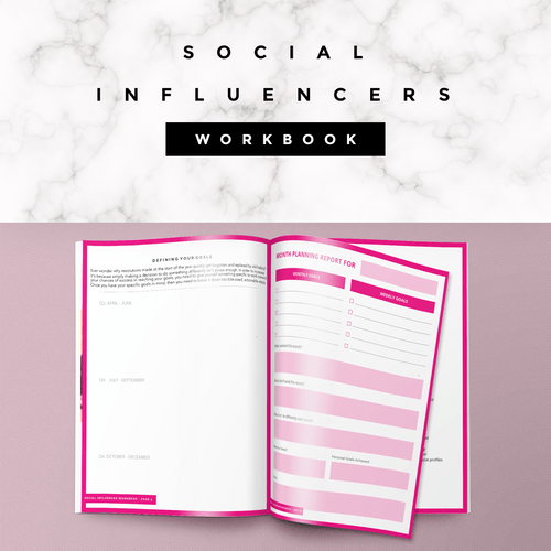 Social Media Influencer Workbook