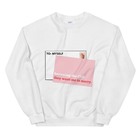 Becoming The CEO They Want Me To Marry (Sweatshirt)