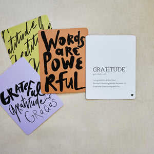 WORDAFUL Affirmation Cards