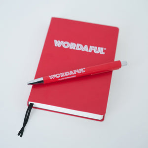 WORDAFUL Gratitude Journal + Pen