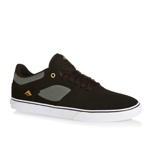 EMERICA THE HSU LOW VULC BLACK/GREY/WHITE