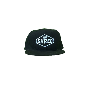 THE SHRED SNAP BACK CAP BLACK