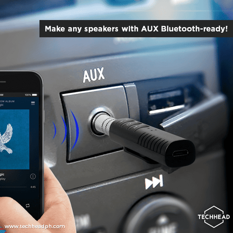 Bluetooth Audio Receiver TechHead
