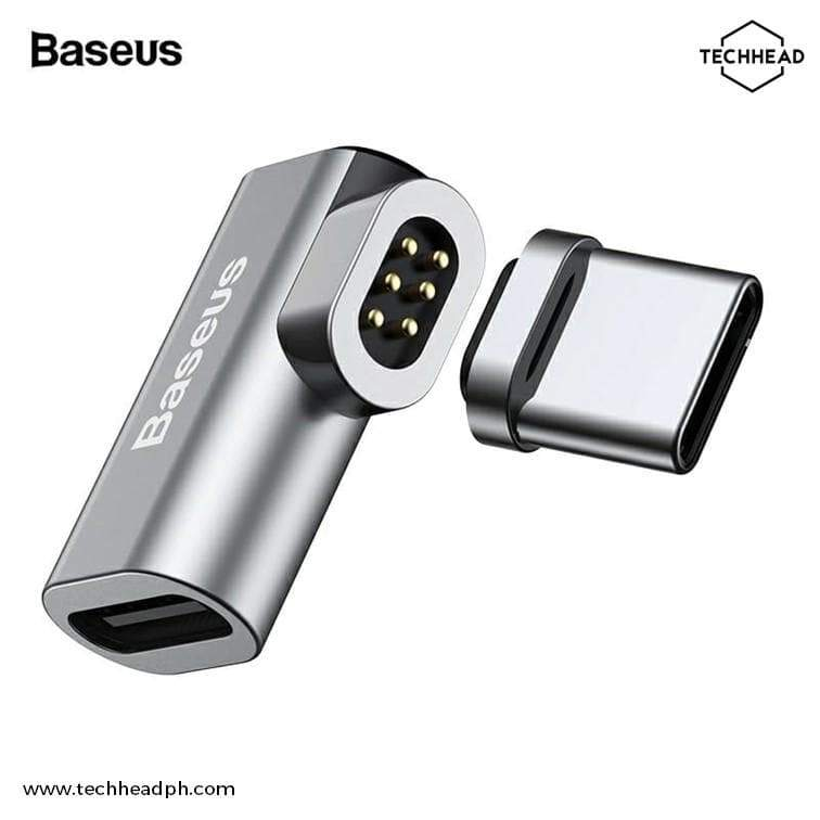 TechHeadPH Adapter BASEUS Magnetic Type-C Converter