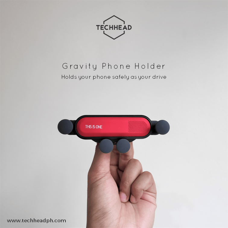 TechHeadPH Gravity Car Phone Holder