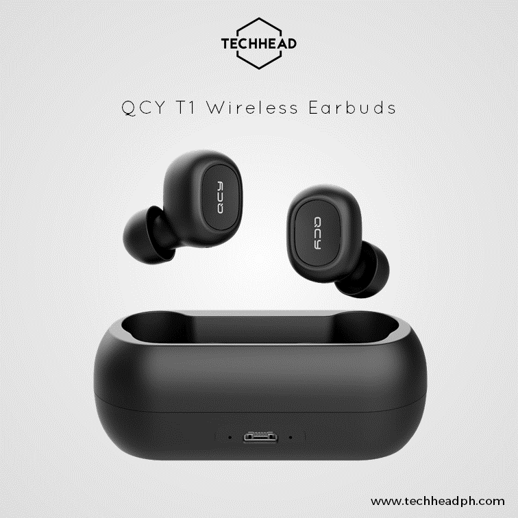 TechHeadPH QCY T1 Wireless Earbuds (Bluetooth 5.0)