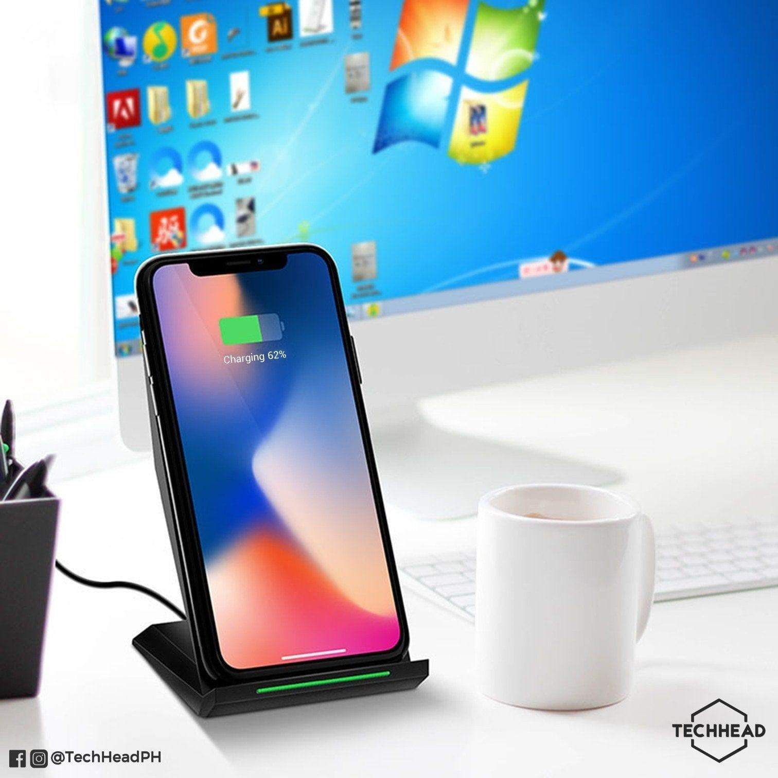 TechHeadPH Wireless Charger URBO 10W Fast Wireless Charger (Recommended)