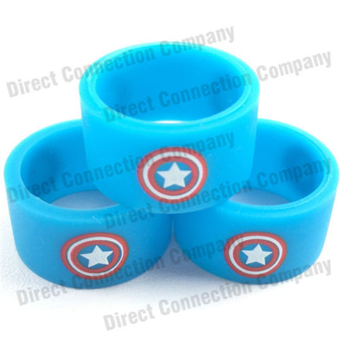 18mm Superhero Silicone Tank Bands Wholesale
