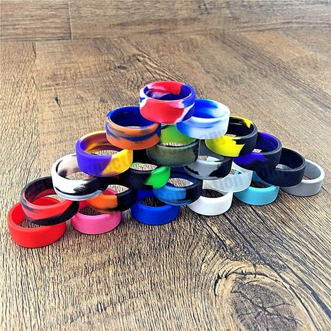 21MM Silicone Vape Band Protective Bands Ring