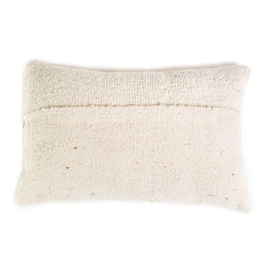 Coussin afghan biface uni 30*50