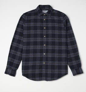 Chemise Abstract Check