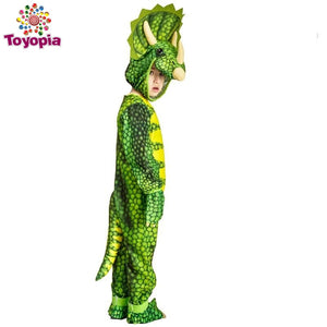 Dinosaur Triceratops/Tyrannosaurus/Stegosaurus Costume Cosplay Jurassic Park Animal Clothes Role Play for kids Halloween Party - Toyopia