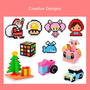 500pcs/pack 5mm Hama Beads 3D Puzzle Toys - Toyopia
