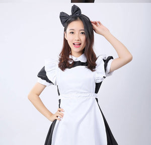 Alice In Wonderland Costume Lolita Dress Maid Cosplay Fantasia Carnival Party Halloween Costumes for Women