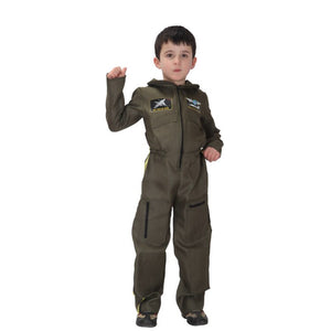 Air Force Costume Boys Men Airman Soldier Cosplay Uniform