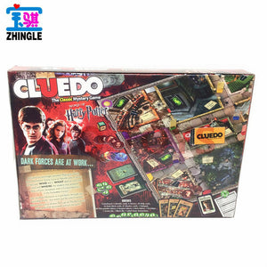 English board game 2-6 person reasoning attack game Classic Cluedo  investigating Game - Toyopia