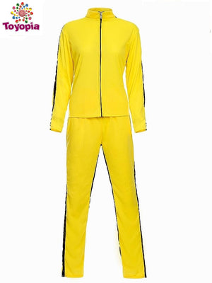 Woman Yellow Kill Bill Costumes Halloween Party Fearful Killer the Bride Cosplay Fancy Outfits for Female - Toyopia