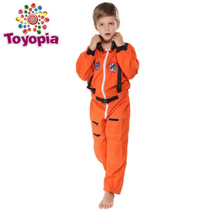 Astronaut Polit Costumes Children Jumpsuit Halloween Costume for kids Spaceman Festival Fancy Dress Boys Cosplay - Toyopia