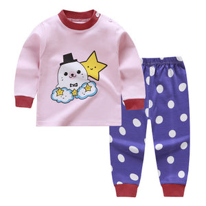 autumn Baby Girls Clothing sets Long Sleeve girls Clothes - Toyopia