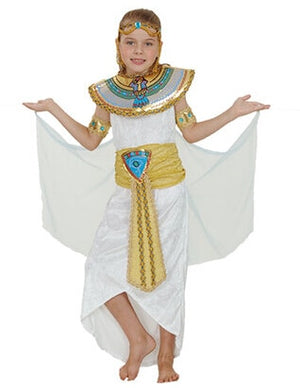Egypt Nile Pharaoh Cleopatra Costume for Women Men Boys Girls Family Halloween New Year Party Fancy Dress - Toyopia