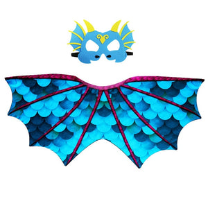 Dinosaur Wings Costume For Kids Party Scarf  World Book Day Halloween Costume For Boy Cosplay Dinosaur - Toyopia