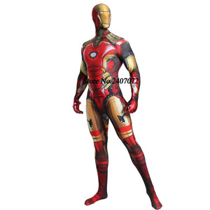 Iron Man Cosplay Zentai Spiderman Costume Superhero  Halloween Party For Adult/Boys - Toyopia
