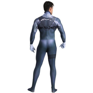 Japan Anime DARLING in the FRANXX HIRO cosplay Costumes Fullbody Zentai Suit - Toyopia
