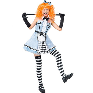 Alice in Wonderland Costume Alice Princess Cosplay Women Maid Costume Dress for Halloween Fancy Party Dress Up Outfit - Toyopia