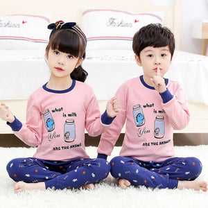 Boys Girls Pajamas Set - Toyopia