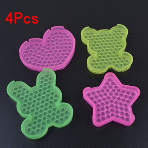 Kids Perler Pegboard Water Bead Animal Molds Accessories Magic Bead - Toyopia