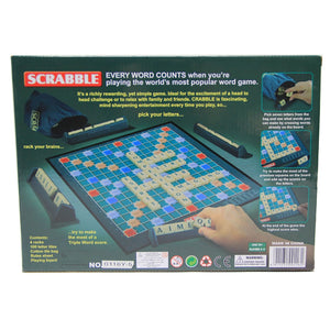 English Version Puzzles Board Spelling Scrabble Board Game Crossword Spelling Game For family Puzzles Board Table Jigsaw - Toyopia