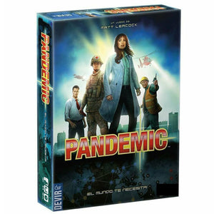 Board Game Pandemic covid-19 like Legacy Series International Award Winning Game 2-Player Family Party Strategy Games - Toyopia