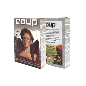 Coup game Full English Version for party family board game cards game - Toyopia