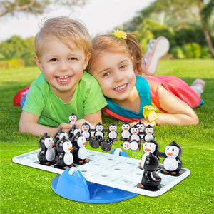 Math Match Game Board Toys Intelligence Fun Penguin Balance Math Game Toy Kids Educational Toy - Toyopia