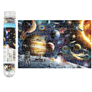 Mini 150 Piece Tube Beautiful Scenery Puzzles Toys for Children Adults - Toyopia