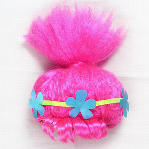 Girls Dresses Trolls Poppy Cosplay Costume Kids Dress - Toyopia