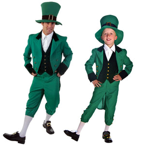 Green Ireland Kids spirit costumes,men Spirit cosplay,Halloween costumes for children,Men cosplay costumes - Toyopia
