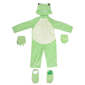 Frog Prince Costume Little Frog  Animal Onesies  Fancy Dress Carnival Halloween Costumes Animal Cosplay - Toyopia
