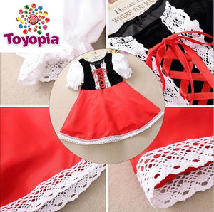 Red Riding Hood Dress  Costume - Toyopia