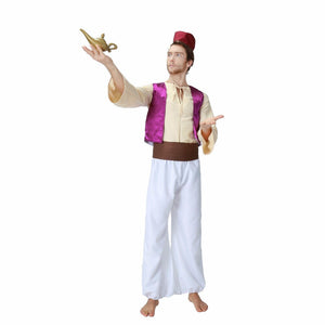 Aladdin Lamp Aladdin Costumes Men Arabian Prince Cosplay Outfit