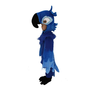 Rio Blue Parrot Cosplay Costume Boys Cartoon Animal  Blue Parrot Clothes - Toyopia