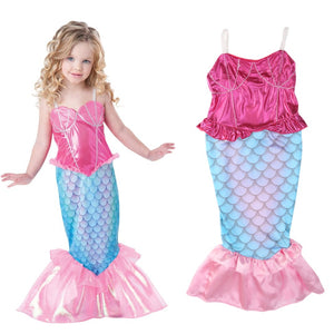 Pudcoco Girls The Little Mermaid Ariel Kids Girls Dresses Princess Cosplay  Costume - Toyopia