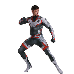 Marvel Endgame Costume Avengers 4 Endgame Quantum Realm Zentai Jumpsuit Halloween Superhero Party Cosplay - Toyopia