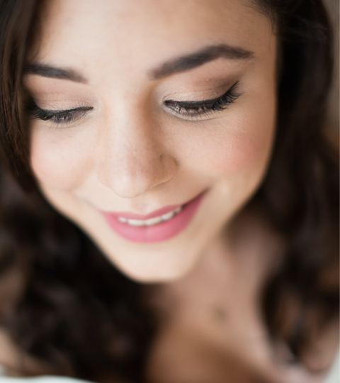 Natural Bridal Makeup by Louise Goodson