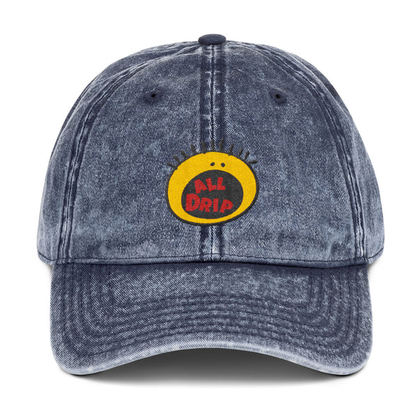 Vintage all drip dad hat