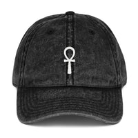 Vintage Ankh Cotton Cap