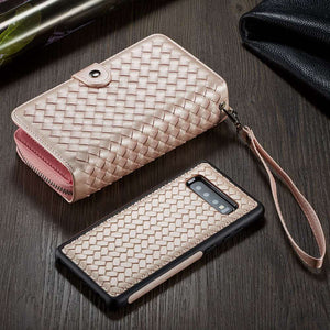 Wallet Case For iPhone 5 5S SE Phone Bags Cases for iPhone 8 7 6 6S Plus X XS XR XS MAX Women Leather Handbag - Now Sellers